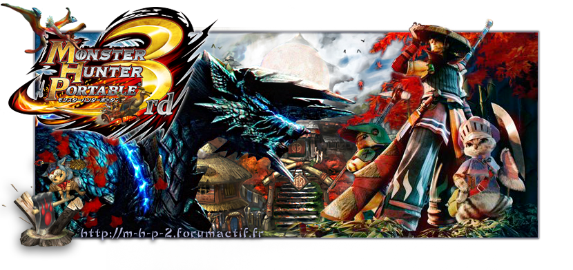 Le forum Monster Hunter Portable 3rd et Unite